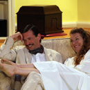 Blithe Spirit - Charles and Elvira - picture by Graham Silvester