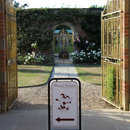 Rose Garden sign - picture by Graham Silvester
