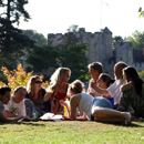 Castle Picnic - picture by Graham Silvester