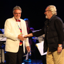 Last Night of Proms - Ron and Bob - picture by Graham Silvester