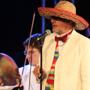 Last Night of Proms  - Bob with Hat - picture by Graham Silvester