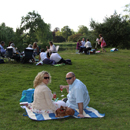 Picnic Couple - picture by Graham Silvester