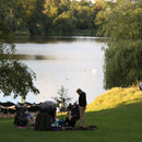 Picnic Lake - picture by Graham Silvester